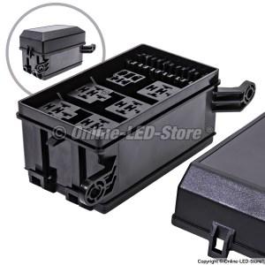OLS 12Slot FuseRelay Box for Bosch Style Relays