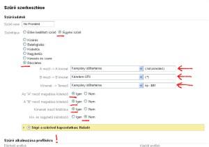 """Google-Analytics - szűrő beállítás a """"(not provided)"""" értékek átalakítására"""