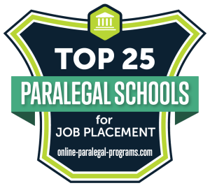 Top 25 Paralegal Schools For Job Placement For 2019