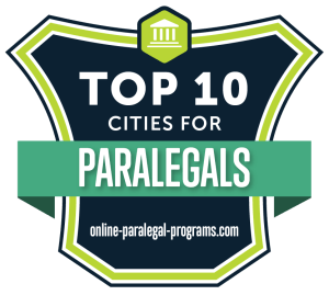 Top 10 Cities for Paralegals 2019