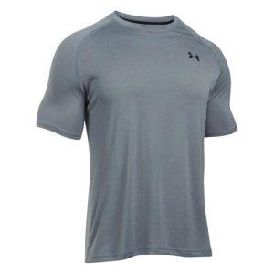 Under Armour Tech shirt heren grijs