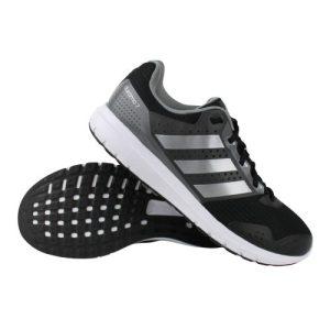adidas Duramo 7 hardloopschoenen heren zwart/zilver/wit