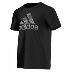adidas XA Graphic trainingsshirt heren zwart