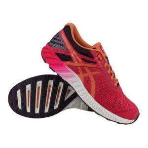 Asics fuzeX Lyte hardloopschoenen dames roze/oranje