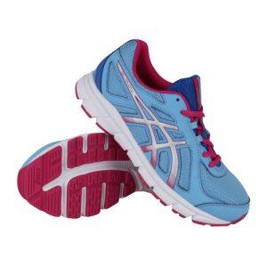Asics Gel-Xalion 2 GS hardloopschoenen kids blauw/roze