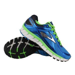 Brooks Adrenaline GTS 16 hardloopschoenen heren blauw/groen