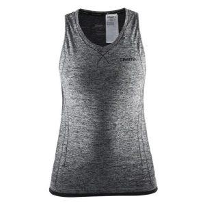 Craft Active Comfort V-neck Singlet dames grijs