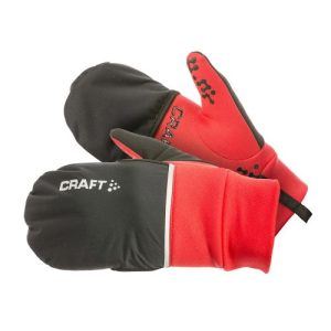 Craft Hybrid hardloophandschoenen unisex zwart/roze