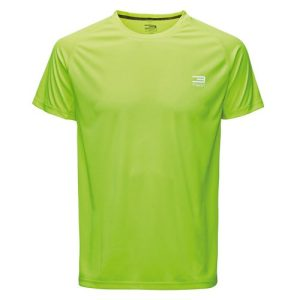 Jack & Jones Tech Journey fitnessshirt SS heren neon geel