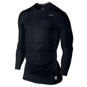 Nike Pro Combat LS 2.0 thermoshirt heren zwart