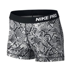 Nike Pro Vixen fitnessshort dames wit/zwart