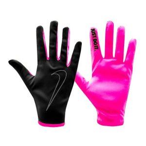 Nike Rally hardloophandschoenen dames zwart/roze