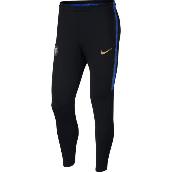 Nike Voetbal trainingsbroek Inter Milan 18/19 donkerblauw