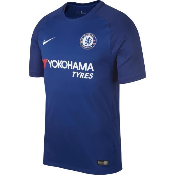 Nike Voetbalshirt Chelsea thuisshirt 17/18 blauw