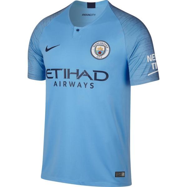 Nike Voetbalshirt Manchester City thuisshirt 18/19 blauw