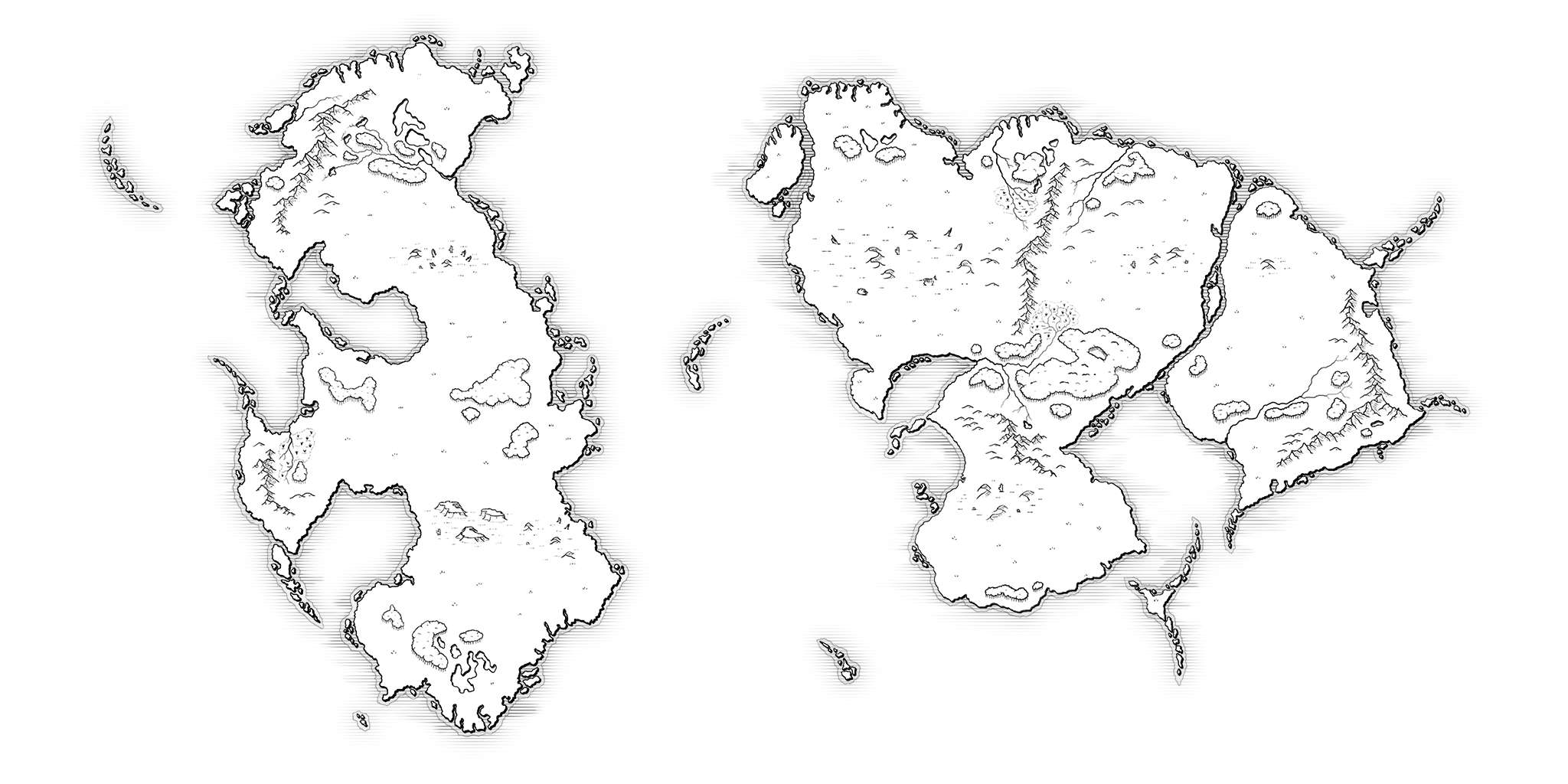Awesome Blank Fantasy Map Photos
