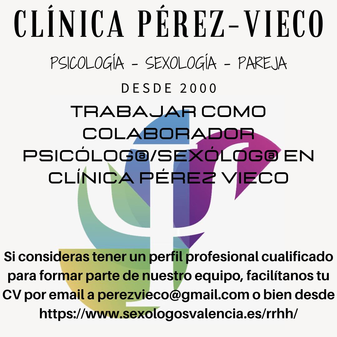 Oferta Empleo para psicologos y sexologos