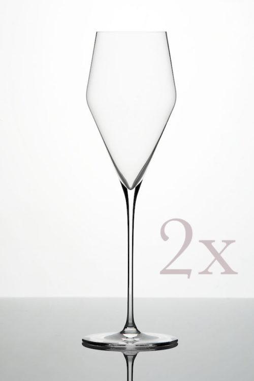 ZALTO Champagnerglas 2er Pack