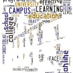online-campus word cloud