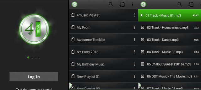 4Shared Music download app