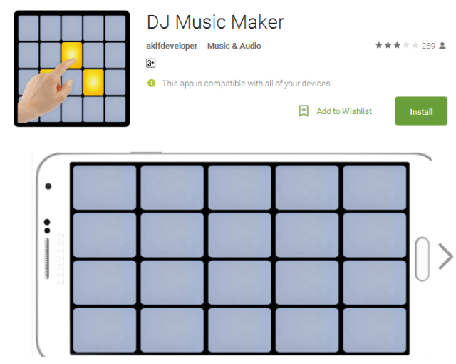 DJ Music Maker music Android Apps