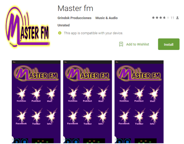 Master fm Android Apps