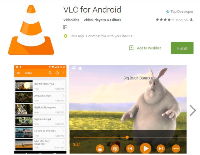 VLC for Android Android Apps