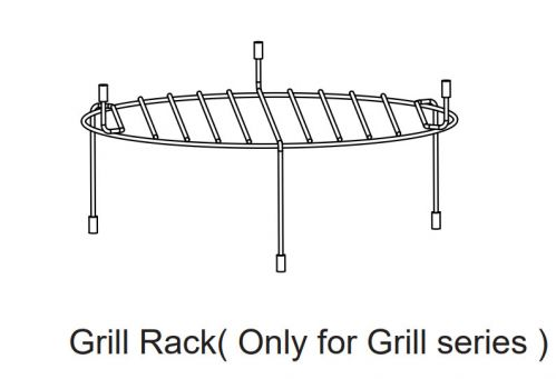 hp conv gril high pointe convection microwave grill rack