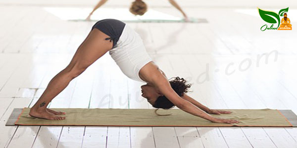 Adho Mukha Svanasana or Downward-Facing Dog