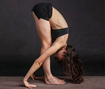 Forward Bend Pose or Uttanasana
