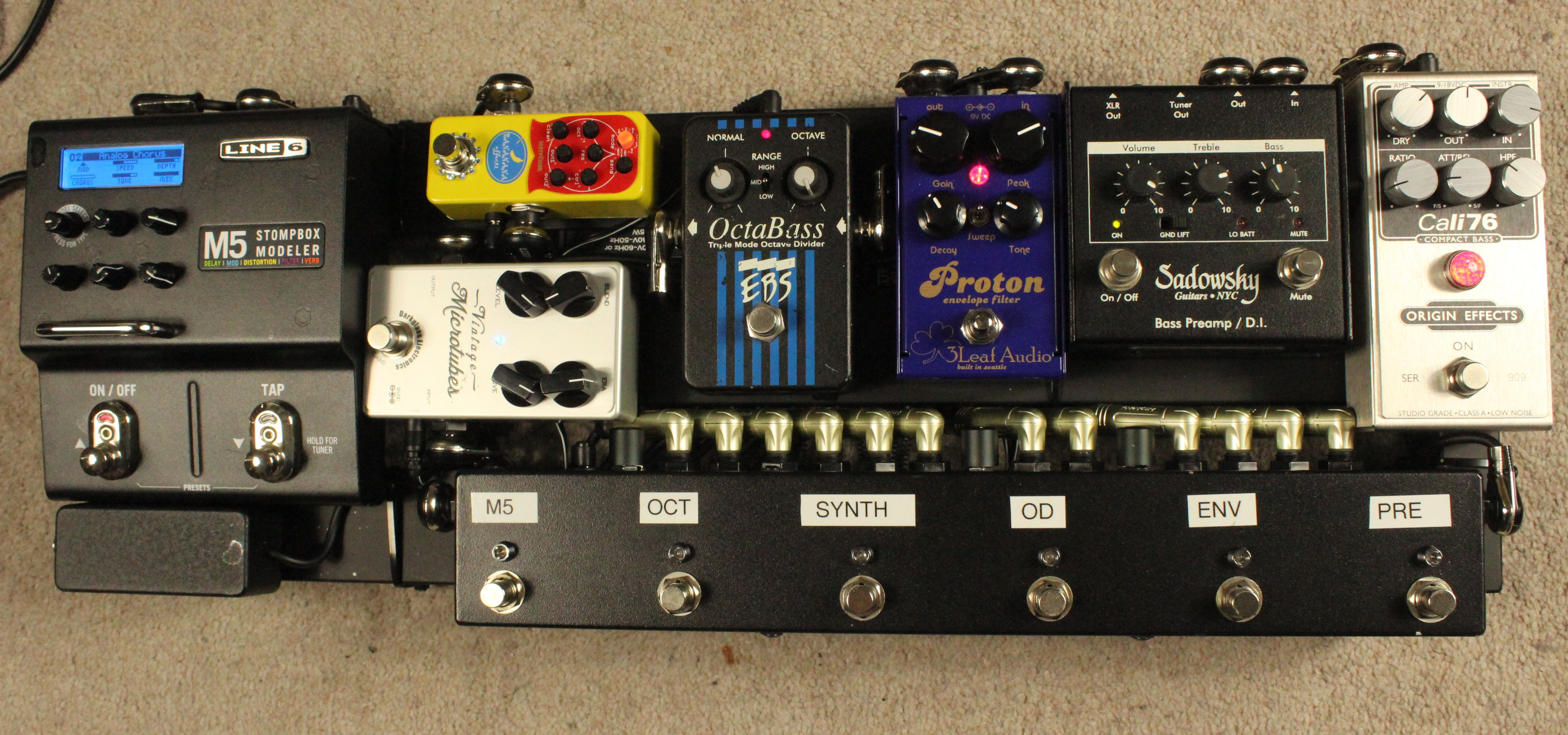 How To Put Together A Bass Guitar Pedalboard Online Courses Wiring Diagram