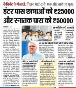 Bihar inter scholarship 2021