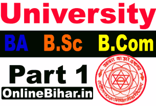 LNMU UG part 1 admission