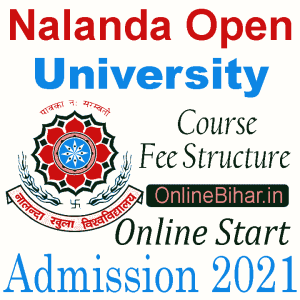 Nalanda Open University Course Fee Structure
