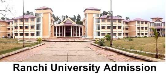 Ranchi University Admission 2021