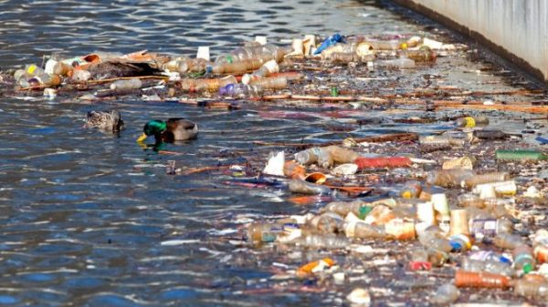 Water pollution and types of water pollutants
