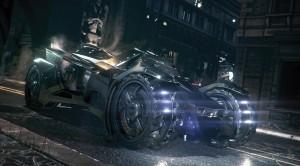 Batmobilul din Arkham Knight