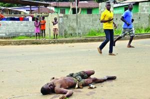 Africa de Vest Ebola