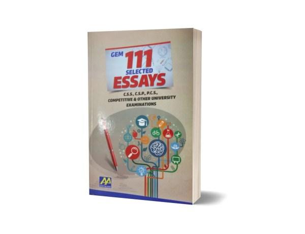 GEM 111 Selected Essays