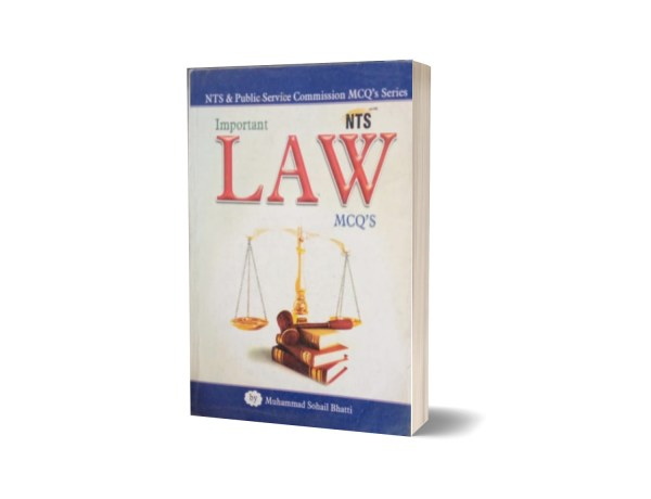 Important LAW MCQs For NTS By Muhammad Sohail Bhatti