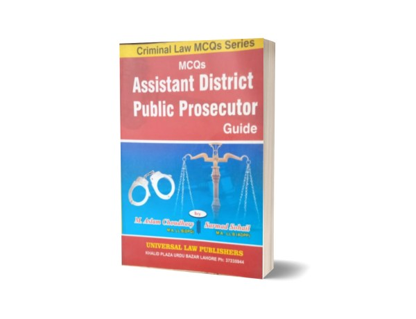MCQs Assistant Dictrict Pablic Prosecutor Guide By Muhammad Sohail Bhatti