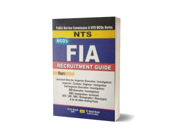 MCQs FIA Recruitment Guide For NTS By Muhammad Sohail Bhatti