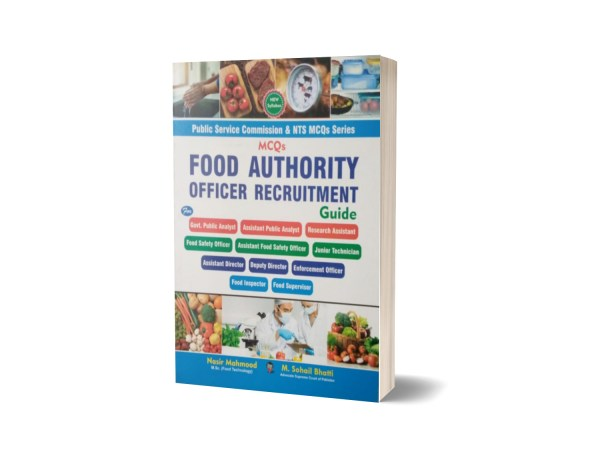 MCQs Food Authority Officer Recruitment Guide By Muhammad Sohail Bhatti