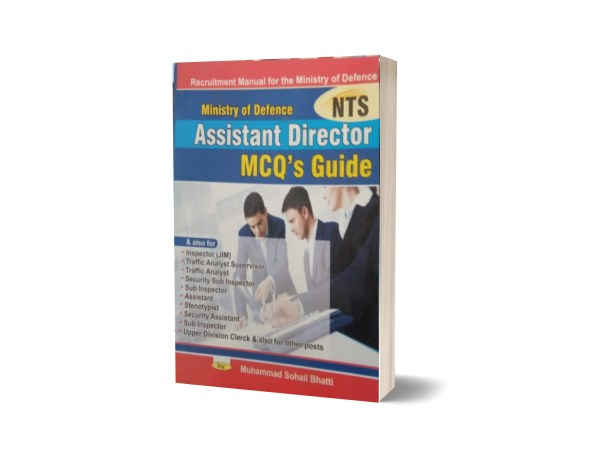 Ministry Of Defence Assistant Director MCQS Guide By Muhammad Sohail Bhatti