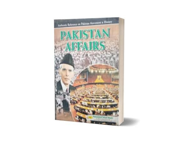 Pakistan Affairs By Muhammad Sohail Bhatti