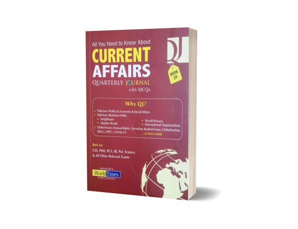 CURRENT AFFAIRS Quarterly Journal with MCQs Book 20- JWT