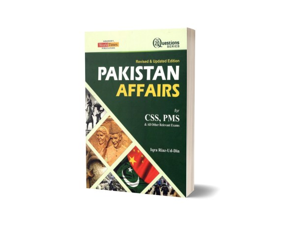 Pakistan Affairs (Top 20 Questions) By Iqra Riaz Ud Din- JWT