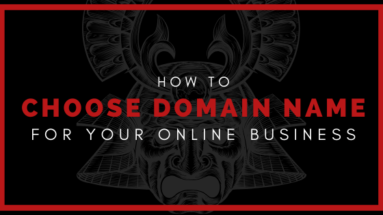 Select a Best Domain name for Online Business