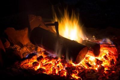 Fire by Student Belinda Sullivan