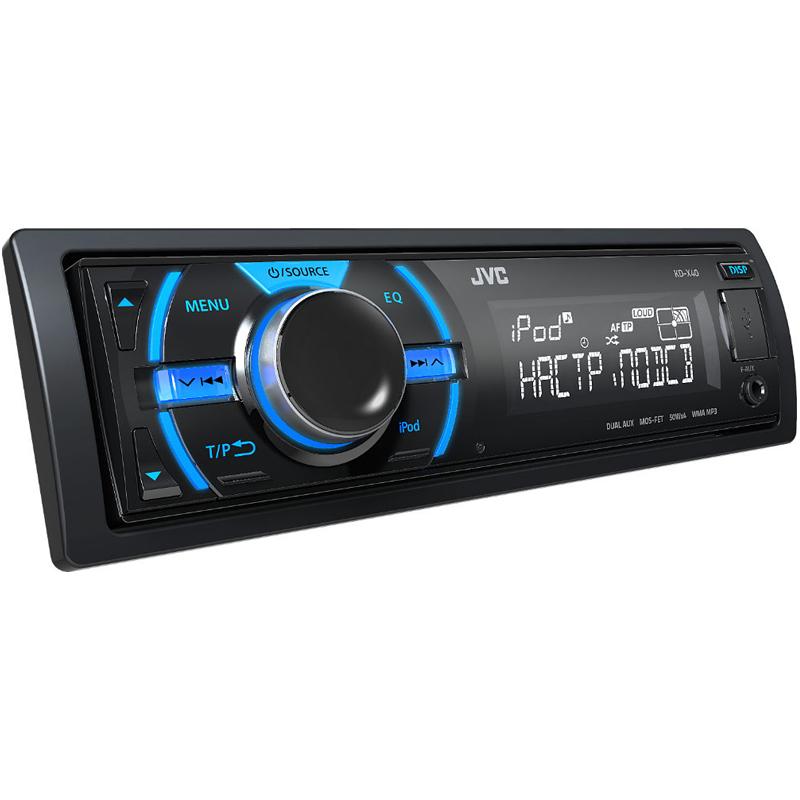 Jvc Kd X40 Kdx40 Single Din In Dash Digital Media